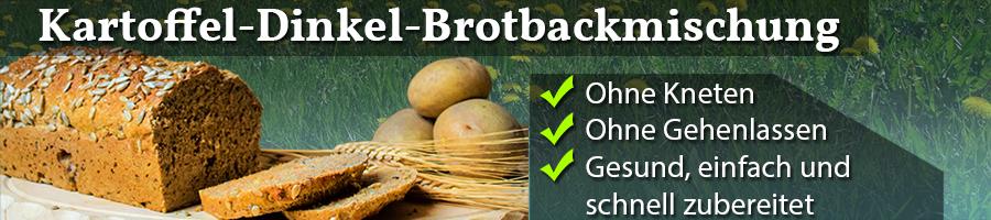 Dinkel Kartoffel Brotbackmischung Rabattaktion