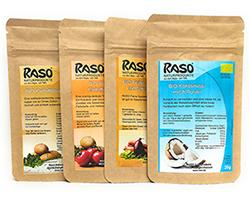 RASO BIO Kennenlernpaket + gratis Kokosnussmilchpulver